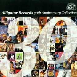 Alligator Records 30th Anniversary Collection CD Cover Art