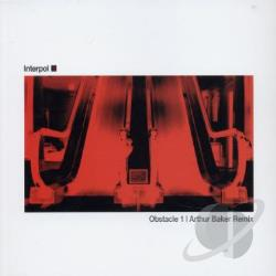 Interpol - Obstacle 1: Arthur Baker Remix DS Cover Art