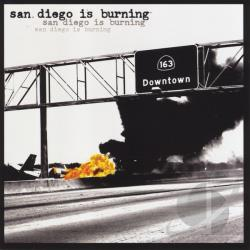 San Diego is Burning CD Cover Art