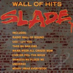 Slade - Wall of Hits CD Cover Art