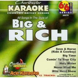 Big & Rich - Karaoke: Big & Rich CD Cover Art