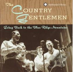 Country Gentlemen - Going Back to the Blue Ridge Mountains CD Cover Art