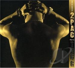 Tupac - Best of 2Pac, Pt. 1: Thug CD Cover Art