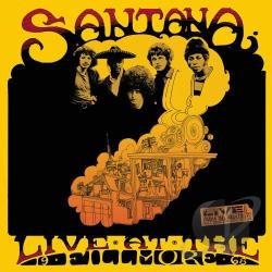 Santana - Live at the Fillmore 1968 CD Cover Art