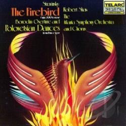 Aso / Borodin / Shaw / Stravinsky - Stravinsky: The Firebird Suite; Borodin: Overture and Polovetsian Dances from Prince Igor CD Cover Art