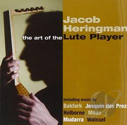 Heringman: lt - Art of the Lute Player CD Cover Art