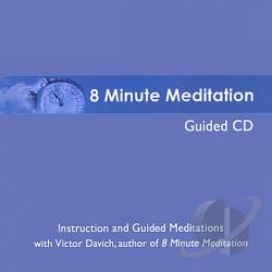 Davich, Victor - 8 Minute Meditation Guided CD Cover Art