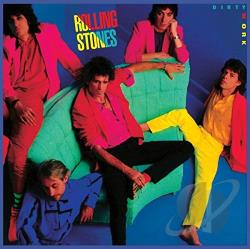 Rolling Stones - Dirty Work CD Cover Art