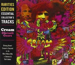 Cream - Rarities Edition: Disraeli Gears CD Cover Art
