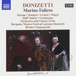 Donizettisurian / Magri / Stanisci - Donizetti: Marino Faliero CD Cover Art