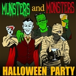 KnightsBridge - Munsters And Monsters Halloween Party DB Cover Art
