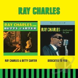 Charles, Ray - Ray Charles & Betty Carter / Dedicated To You CD Cover Art