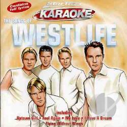 Startrax Karaoke - Songs Of Westlife CD Cover Art