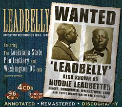 Lead Belly - Important Recordings 1934-1949 CD Cover Art