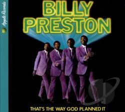Preston, Billy - That's the Way God Planned It CD Cover Art