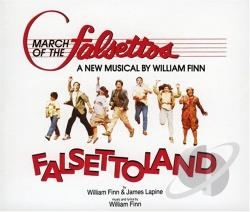 Original Broadway Ca - March Of The Falsettos/Falsettoland CD Cover Art