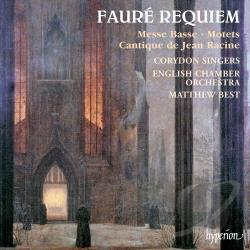 Best / Corydon Singers / Faure - Faure: Requiem; Cantique de Jean Racine; Messe basse CD Cover Art
