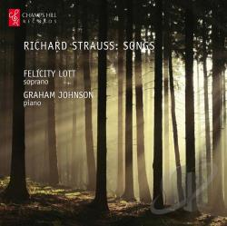 Johnson / Lott / Strauss - Richard Strauss: Songs CD Cover Art