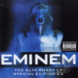Eminem - Slim Shady LP CD Cover Art