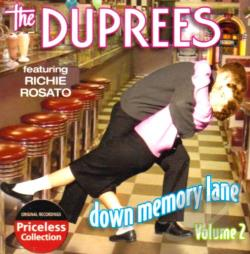 DuPrees - Down Memory Lane, Vol. 2 CD Cover Art