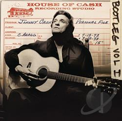 Cash, Johnny - Bootleg, Vol. 1: Personal File CD Cover Art