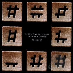 Death Cab For Cutie - Keys and Codes Remix EP CD Cover Art