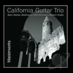 California Guitar Trio - Masterworks CD Cover Art