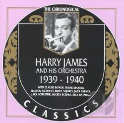 James, Harry - 1939-1940 CD Cover Art