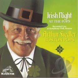 Fiedler, Arthur - Irish Night at the Pops CD Cover Art