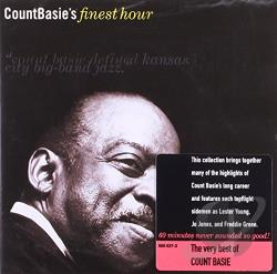 Basie, Count - Count Basie's Finest Hour CD Cover Art