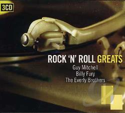 B. Fury / Everly / Mitchell, G - Rock N Roll Greats CD Cover Art