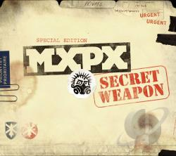 MxPx - Secret Weapon CD Cover Art