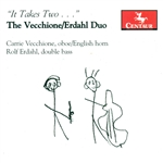 Erdahl Duo / Vecchione - It Takes Two CD Cover Art