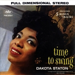 Staton, Dakota - Time to Swing CD Cover Art