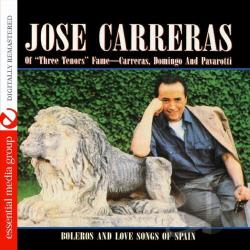 Carreras, Jose - Boleros and Love Songs of Spain CD Cover Art