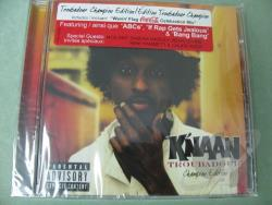 K'naan - Troubadour CD Cover Art
