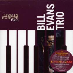 Evans, Bill / Evans, Bill (Trio) - Live in Europe 1965 CD Cover Art