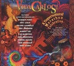 Viva Carlos: A Supernatural Marathon Celebration CD Cover Art
