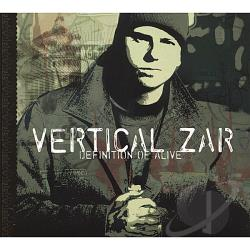 Vertical Zar - Definition Of Alive CD Cover Art