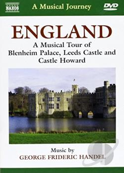 Musical Journey: England - Musical Tour Of Blenhei - Dvorak: Piano Quartets DVD Cover Art