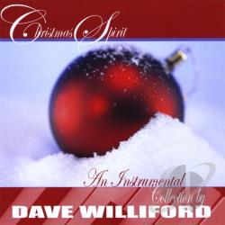 Williford, Dave - Christmas Spirit CD Cover Art