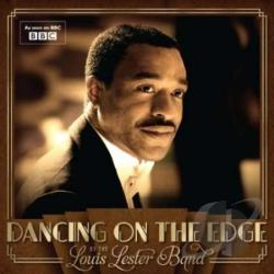 Louis Lester Band - Dancing on the Edge CD Cover Art