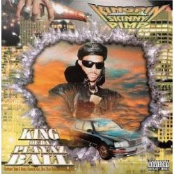 Kingpin Skinny Pimp - King of Da Playaz Ball CD Cover Art