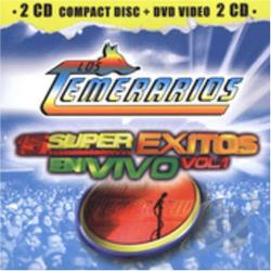 Los Temerarios - 15 Super Exitos En Vivo Vol. 1 CD Cover Art