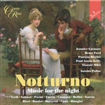 Biccire, Patrizia - Notturno: Music for Night CD Cover Art