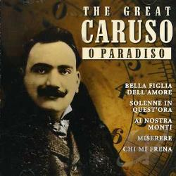 Caruso - O Paradiso CD Cover Art