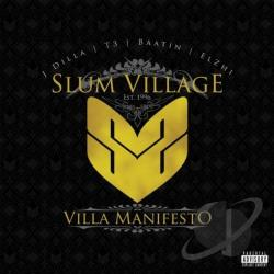 Slum Village - Villa Manifesto CD Cover Art