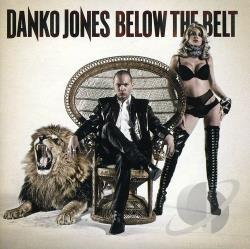 Jones, Danko - Below the Belt CD Cover Art