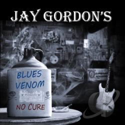 Jay Gordon's Blues Venom - No Cure CD Cover Art
