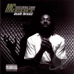 M.C. Eiht - Death Threatz CD Cover Art